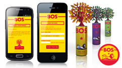 Augmented reality app for BOS Ice Tea