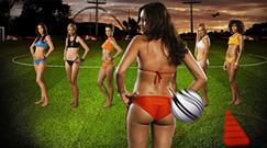 Viral online game: Flash game for football fans